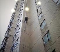 更换维修外墙落水管